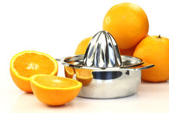 Zitrusfruchtpresse Stockbild