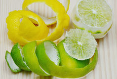 Zitrusfruchtschale Stockbilder