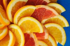 Zitrusfruchtscheiben. stockfoto