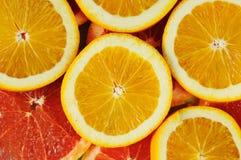 Zitrusfruchtscheiben. stockfotografie