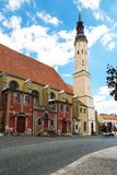 Zittau klosterkyrka, Sachsen, Tyskland Fotografering för Bildbyråer