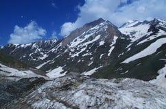 Zitternde Sonamarg-Landschaft Stockbild