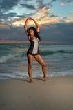 Zitting II van de yoga Stock Afbeelding