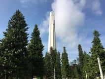 Zivildenkmal der japanischen Besetzung am Kriegspark Singapur Stockfotografie