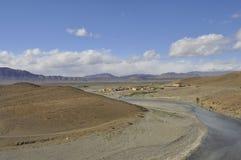 Ziz valley in Atlas mountains ,Morocco Royalty Free Stock Photography