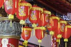 Zizhu寺庙或紫色竹寺庙高雄台湾, ROC 库存图片