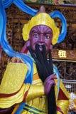 Zizhu寺庙或紫色竹寺庙高雄台湾, ROC 免版税图库摄影