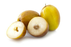 Ziziphus mauritiana Frucht (Chinee Apple) Lizenzfreies Stockfoto