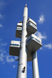 Zizkov Television Tower Royalty Free Stock Photos