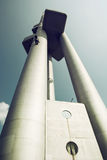 Zizkov television tower in Prague city Royalty Free Stock Photo