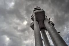 Zizkov torn fotografering för bildbyråer
