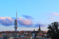 Zizkov tower Stock Photography