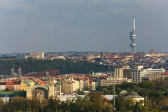 Zizkov transmitter Stock Photography