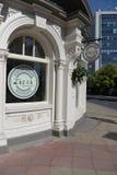 Zizzi餐馆驻地正方形harrogate 免版税库存图片