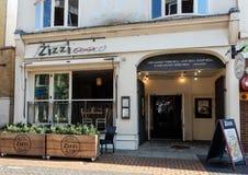 Zizzi restaurangfasad Fotografering för Bildbyråer