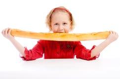 zjadliwy chlebowy francuz Obrazy Royalty Free