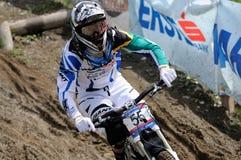 zjazdowy mountainbike Fotografia Stock