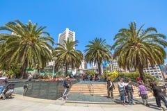 Zjednoczenia San Fransisco Kwadratowy śródmieście zdjęcie royalty free