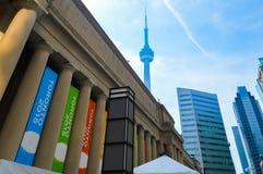 Zjednoczenie stacja w Toronto Obrazy Stock
