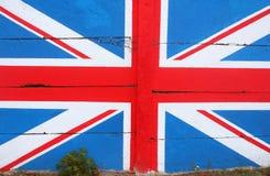 Zjednoczone Królestwo (UK) flaga Zdjęcie Stock
