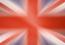 Zlana królestwo flaga Zdjęcie Stock