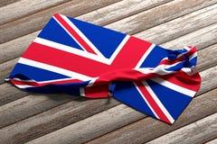 Zlana królestwo flaga Obrazy Royalty Free