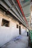 Zlani arabscy emiraty, Dubaj, 06/07/2015, namiestnika rozwoju Hotelowy plac budowy na palmie, Dubaj Obraz Stock