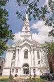 Zlany kościół New Hampshire Chrystus Keene zdjęcia stock