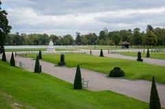 Zlany królestwo, park, zieleni pola i jezioro, Londyn, Hyde, obrazy royalty free