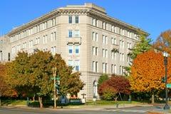 Zlany Metodystyczny budynek 1923 w Waszyngton, d C jesteśmy dziedzictwo punkt zwrotny i tylko pozarządowy budynek na Capitol Hil obraz stock
