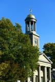 Zlany Pierwszy Farny kościół, Quincy, Massachusetts Obrazy Royalty Free