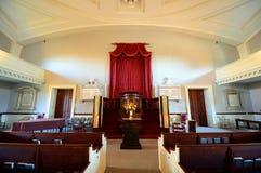 Zlany Pierwszy Farny kościół, Quincy, Massachusetts Zdjęcie Royalty Free
