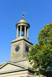 Zlany Pierwszy Farny kościół, Quincy, Massachusetts Obrazy Stock