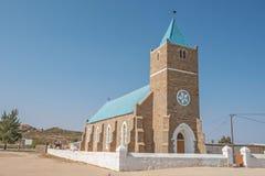Zlany Reformowany kościół w Concordia fotografia royalty free