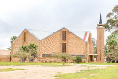 Zlany Reformowany kościół w Ebenhaeser fotografia stock