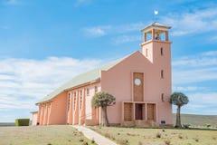 Zlany Reformowany kościół w Loeriesfontein zdjęcia stock