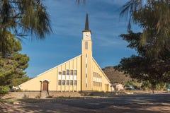 Zlany Reformowany kościół w Montagu fotografia royalty free