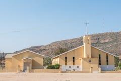 Zlany Reformowany kościół w Nababeep fotografia stock