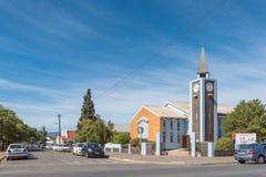 Zlany Reformowany kościół w Robertson zdjęcia royalty free