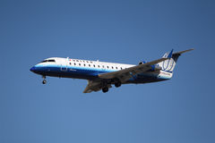 Zlany Skywest bombardier (Comair) obrazy royalty free
