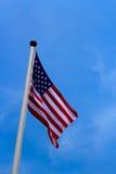 Zlany stan Ameryka flaga zdjęcie royalty free