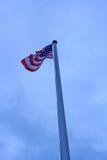 Zlany stan Ameryka flaga zdjęcia stock