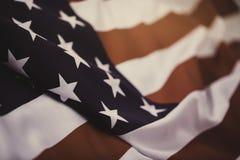 Zlany stan robić Ameryka tkanina zaznacza obraz stock