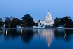 Zlany statuy Capitol zdjęcie royalty free