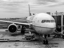 Zlany Terminal przy Newark swobody lotniskiem międzynarodowym fotografia royalty free