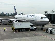 Zlany Terminal przy Newark swobody lotniskiem międzynarodowym zdjęcie royalty free