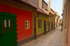 Zlata街道,布拉格 库存图片