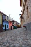 Zlata ulicka Prague Stock Photo