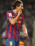 Zlatan Ibrahimovic e Nico Pareja immagini stock