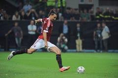 Free Zlatan Ibrahimovic Pull The Penalty Kick Royalty Free Stock Image - 187128056